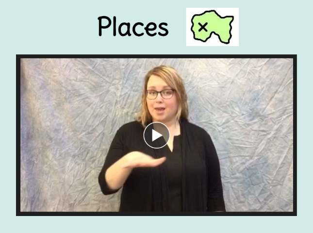 sign language book link places