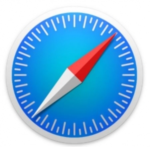 icon of the safari app for the iPad