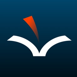 Voice Dream Reader app icon open book with a read page