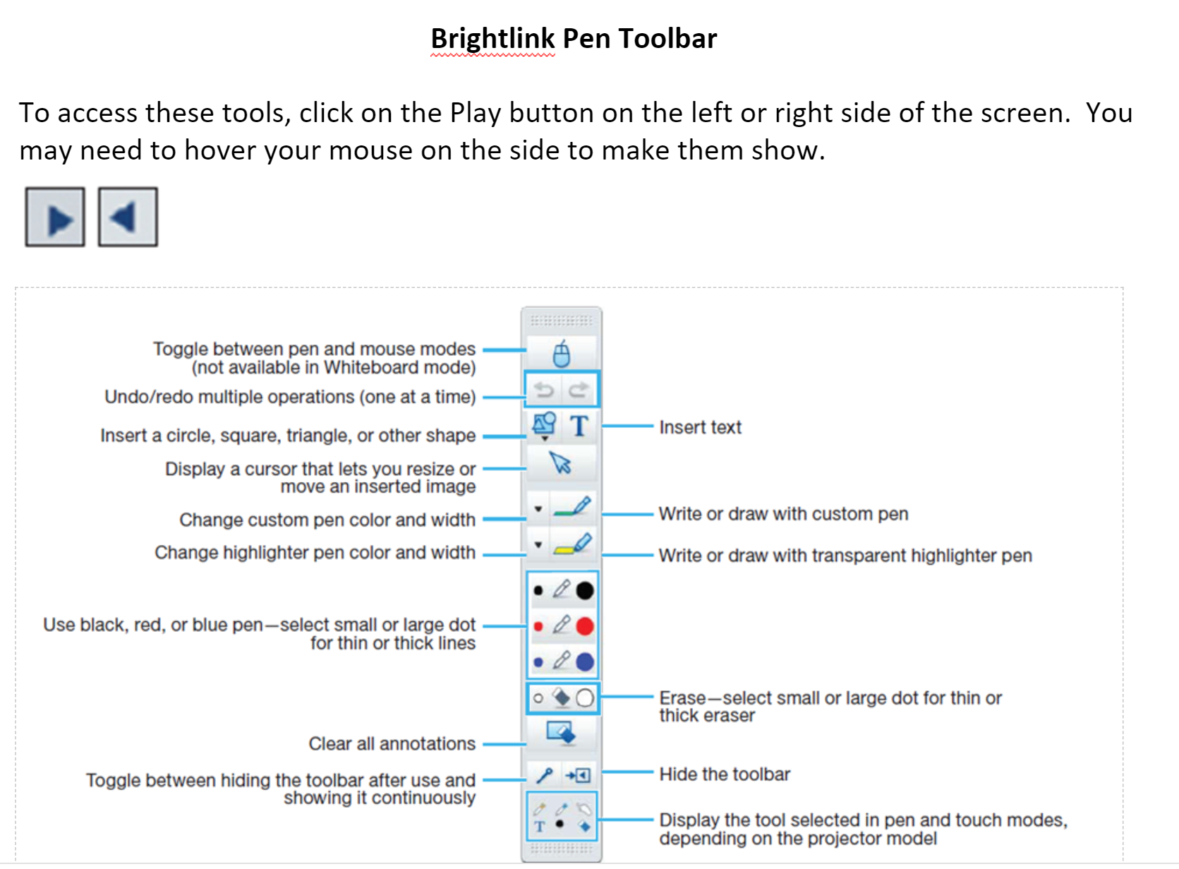 Brightlink Toolbar