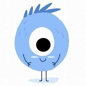 lalio logo monster with one big eye