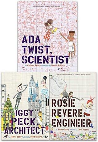 Andrea Beaty Collection 3 Books Set by Andrea Beaty