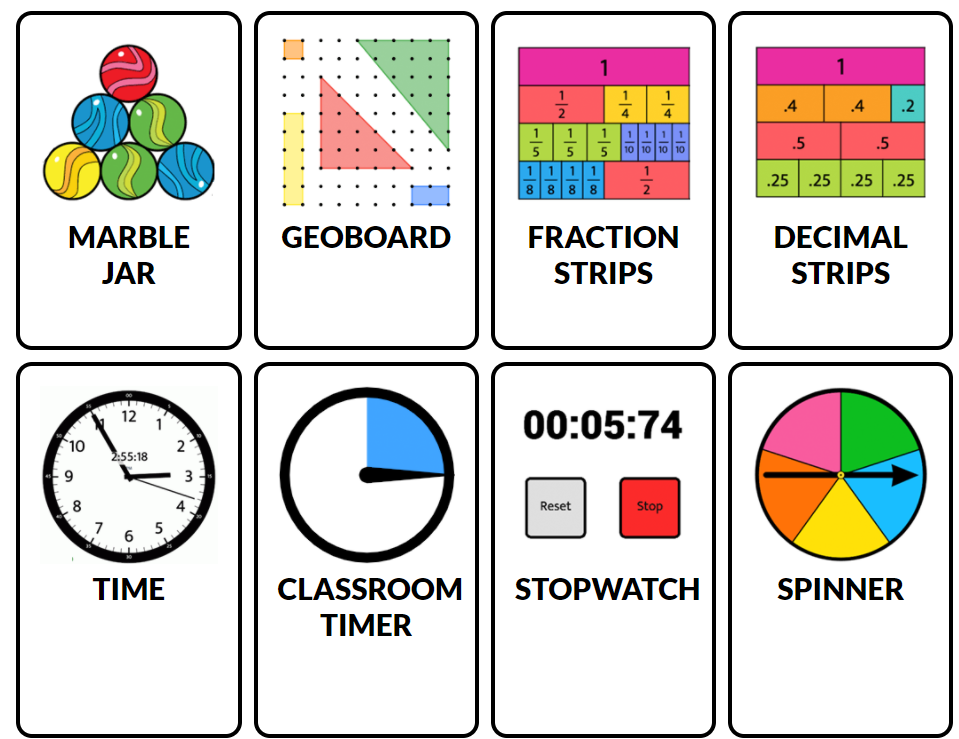 Online Virtual Manipulatives