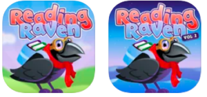 Reading Raven icon bird with googles and a scarf